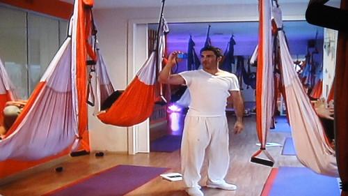 Aero Yoga, clases y seminarios en Madrid
