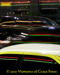 Moving Cars and Red, Green Neon Stripes, Bukit Bintang, Kuala Lumpur (John Hu Photography) Tags: street red urban blur reflection green lines car vertical night speed outside outdoors automobile downtown driving traffic dynamic streetphotography fast cruising automotive malaysia neonlights vehicle kualalumpur windshield bonnet bodywork cowling blurredmotion energetic colorimage cityscapenight nopeoplephotography