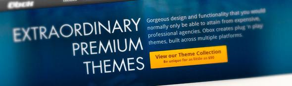 Premium Themes | Obox Design