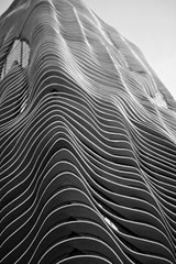 aqua curves (John J Curtis) Tags: blackandwhite chicago architecture skyscraper buildings downtown aquatower johnjcurtis