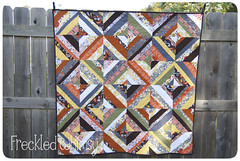 Autumn Strings Quilt (KarrieLyne) Tags: quilt kona highsociety anthology robertkaufman konacotton stringquilt konacrush khristianahowell karrielyne