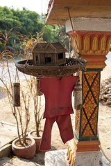 Mereng Kung Veal Spirit House (Keith Kelly) Tags: wood red house religious toys construction model cambodia southeastasia cambodian khmer candy display spirit buddhist ghost honor bamboo clothes holy elf ancestor figure sacred offering phnompenh mystical kh cloth figurine creature wicker legend mythology superstition displayed revere myth incense statuette superstitious garments elves spirithouse supernatural trinkets alms folktale kampuchea takmao houseelf revered kandal kandalprovince bassacriver josstick khmae preahrachanachkrkmpuchea kohanlongchen merengkungveal merenangkengveal merangkungveal mringkungveal childspirit mriengkongveal