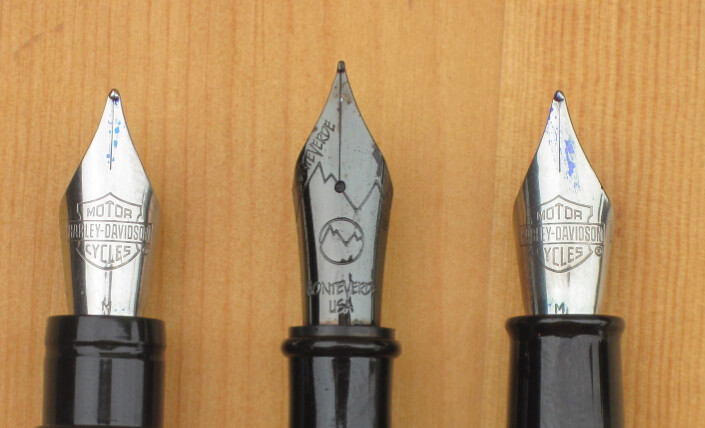 Nib Sizes Compared
