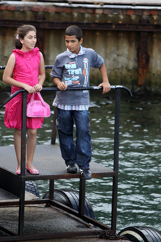 Kids on the Pier