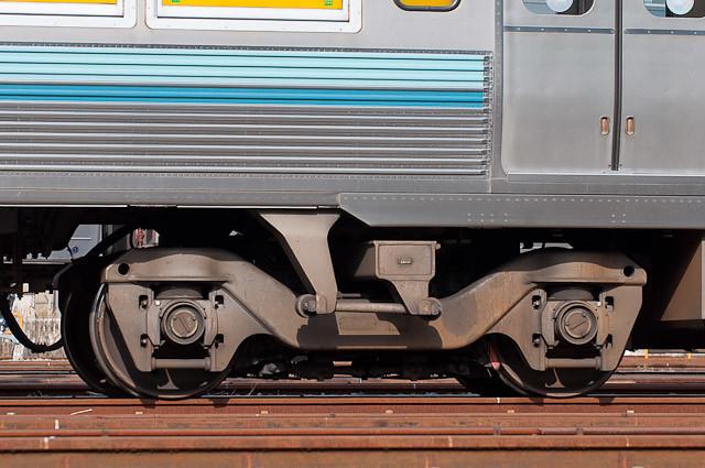 京王電鉄3000系3029F デハ3129F 台車