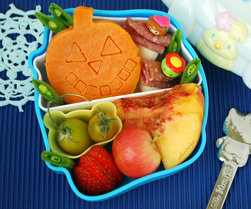 Japanese - Halloween little bento Box