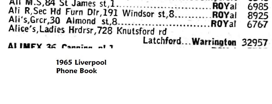 1965 phone book