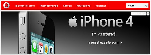 iPhone 4 Acum si la Vodafone