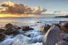 Kapaa and the Sea - Big Island, Hawaii (PatrickSmithPhotography) Tags: ocean sea sky usa cloud seascape water landscape lava unitedstates wave bigisland kapaa kohala