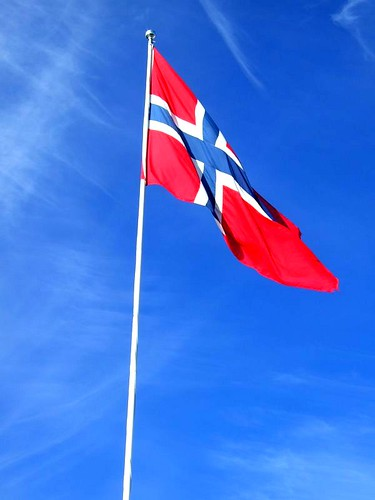 Bergen Norway flag