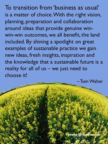 The bright light of sustainable practice