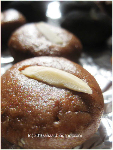 date and almond peda