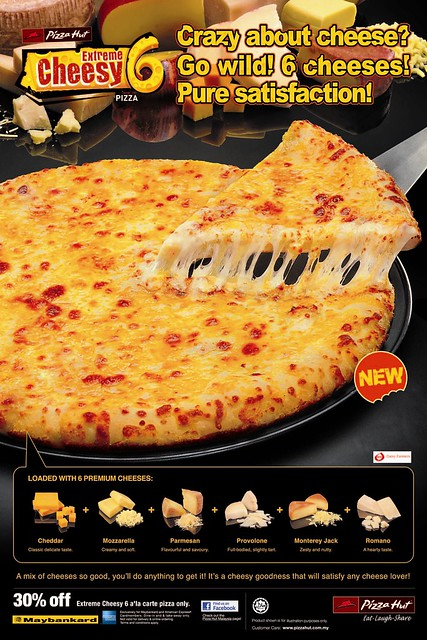 Extreme Cheesy 6 from Pizza Hut