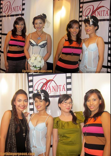 photo op with the House of Vanity blogger models :)