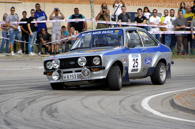 Rally 2000 Viratges (2010)- Ford Escort MK2