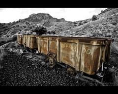 Reparado (Cani Mancebo) Tags: españa canon wagon spain tokina murcia portman vagón minería 1116 vagones 400d launión canoneos400ddigital sierraminera 1116mm canimancebo tokina1116f28dxatxpro sierramineracartagenalaunión