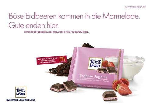 RITTER SPORT Erdbeer Joghurt 2010