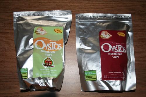 2010-10-16 - Junk Food - 01 - Oystos mushroom chips