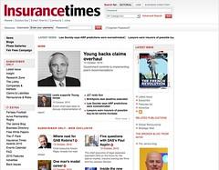 Insurance Times website