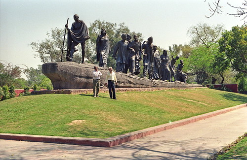 The Salt March Monument,