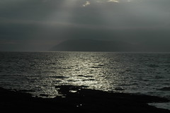 Isle of Arran in the distance (Cycling the world) Tags: 15challengeswinner