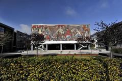BTU Cottbus Mural