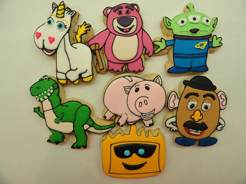 Toy Story 3 cookies!!!