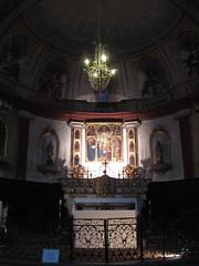 Puget-Thniers - The church choir (Sokleine) Tags: france heritage church interior kirche paca 06 eglise intrieur alpesmaritimes pugetthnier