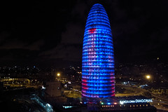 Torre Agbar (bigchus) Tags: barcelona tower hotel torre penthouse ricoh agbar novotel tic