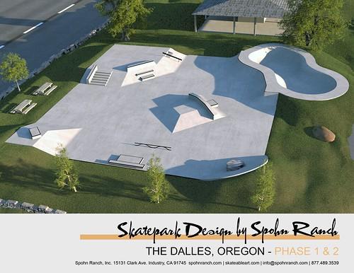 Final Skatepark Design for The Dalles, Oregon | Spohn Ranch