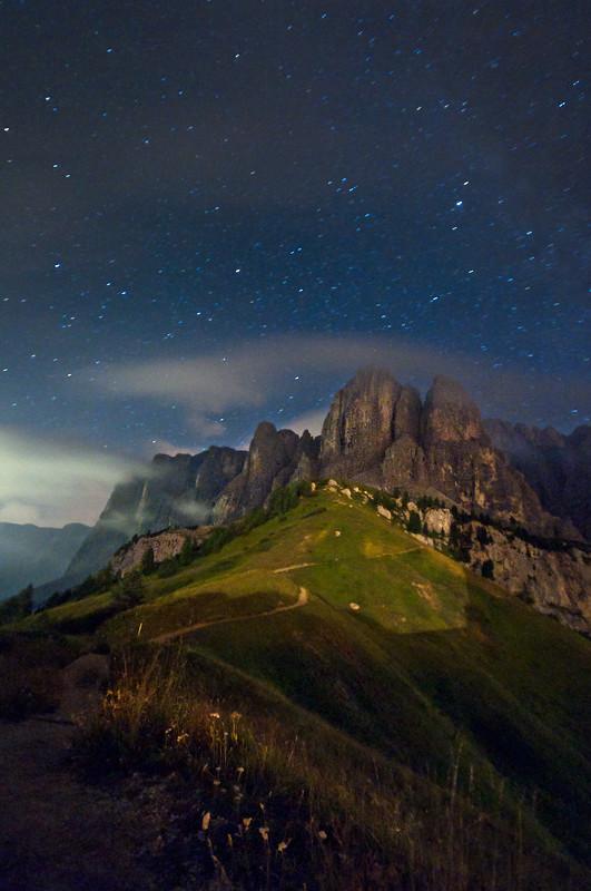 Notturno Passo Gardena