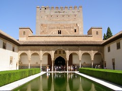 Pałac Nasrydów (magro_kr) Tags: españa tower architecture andalucía spain palace andalucia espana grenada alhambra granada andalusia palac wieza architektura pałac hiszpania wieża andaluzja