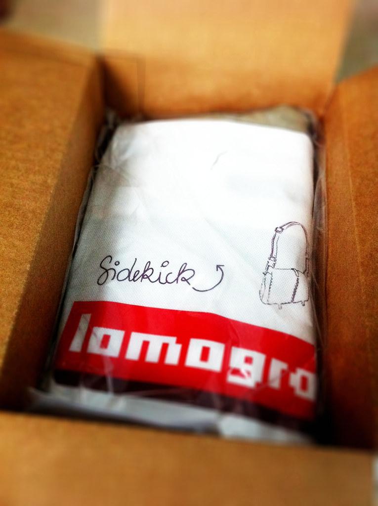 Lomo Sidekick bag - khaki.