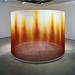 Teresita Fernandez- Fire, 2005 silk yarn, steel armature epoxy