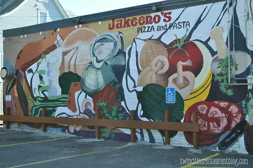 Mural at Jakeeno's Pizza ~ Minneapolis, MN