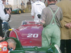 Sir Stirling's OSCA  - Whizzo's head front left - Goodwood Revival 2010 (74Mex) Tags: head front sir left goodwood osca 2010 revival stirlings whizzos