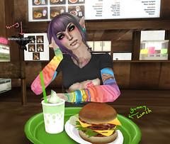 SL Chronic-Lunch Time (PieInk) Tags: lunch minimania femboy slsecondlife lovesoul slchronic