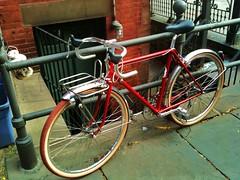 Ali's 650B (guidedbybicycle) Tags: city bicycle handmade steel commuter randonneur 650b