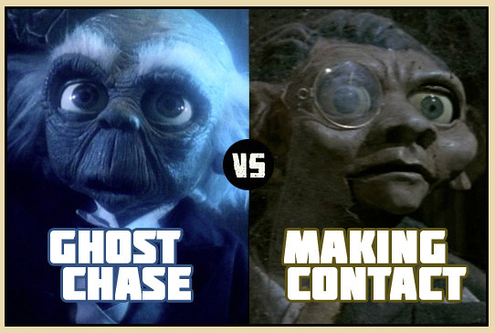 Ghost Chase vs. Making Contact