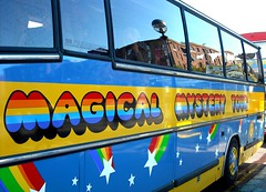 The Magical Mystery Tour Bus (Flamenco Sun) Tags: liverpool beatles lennon ringo mersey albertdock thebeatles magicalmysterytour macca beatlemania rivermersey thecavern strawberyfields johnpaulgeorgeringo