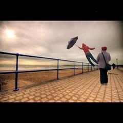 LowGravity (andyathlon) Tags: sun swansea umbrella bay day sony low sigma windy gravity mm 1020 sa1 hdr onlooker a700 thepinnaclehof kanchenjungachallengewinner thepinnacleblog tphofweek70