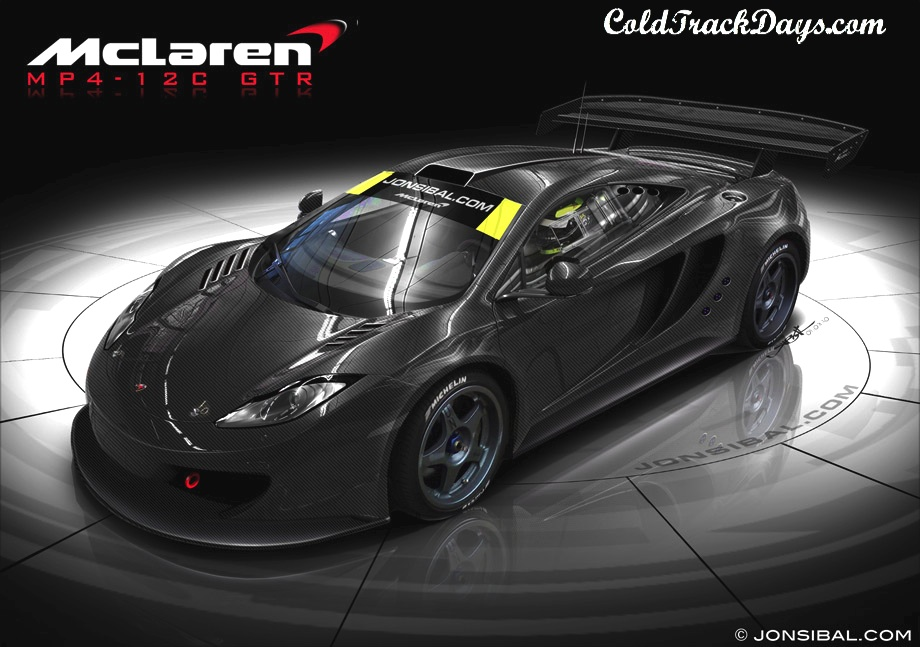 NEWS // McLAREN OUTSOURCING  GT2/GT3 SPEC MP4-12 RACERS