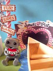 robot carnival 3 (Sleepy Robot 13) Tags: carnival tickets fair games amusementpark cottoncandy rides rollercoaster papercraft tunneloflove polymerclayurbanvinylsleepyrobot13etsysilvercraftcraftscraftingsculptingsculpturefigurinearthandmadecraftshowcutekawaiirobots