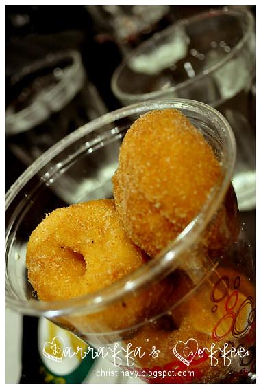 Zarraffa's Coffee: Mini Donuts