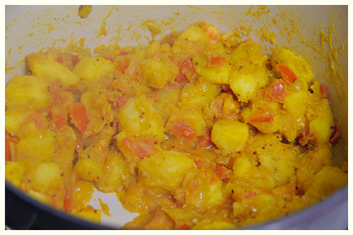 Bombay Breakfast Potatoes