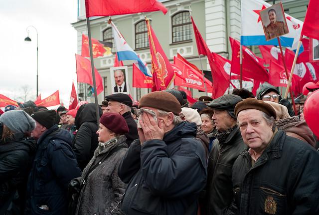 7-е Ноября. Петербургские коммунисты. 93-летняя годовщина Октябрьской революции.