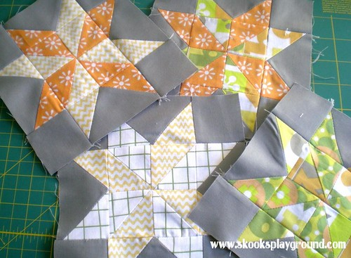 Sawtooth Pinwheel Star Blocks