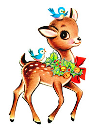 Christmas Joy Deer for tees200