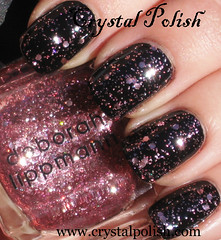 Lippmann Some Enchanted Evening (CrystalPolish) Tags: pink glitter lippmann someenchantedevening allthatjazz