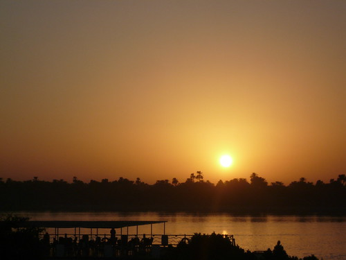 Sunset of the Nile